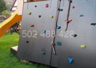 Ściana wspinaczkowa dla dzieci