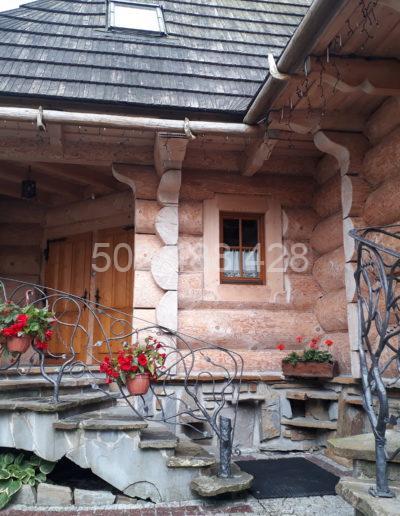 domek - wejście - lato